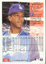 1994 Fleer #515 Pedro Martinez