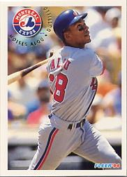 1994 Fleer #531 Moises Alou