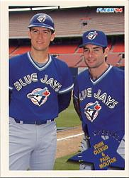 1994 Fleer #707 J.Olerud/P.Molitor