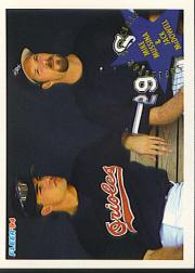1994 Fleer #708 M.Mussina/J.McDowell