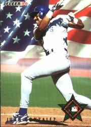 1994 Fleer All-Stars #9 Juan Gonzalez