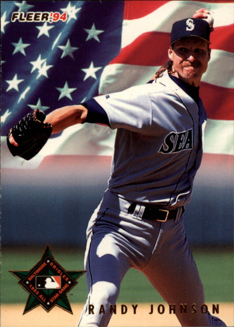 1994 Fleer All-Stars #12 Randy Johnson
