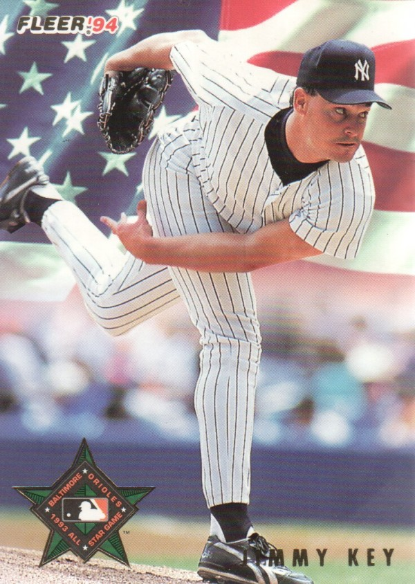 1994 Fleer All-Stars #13 Jimmy Key