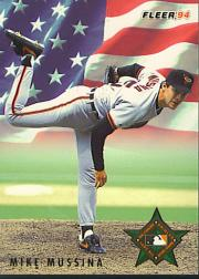 1994 Fleer All-Stars #18 Mike Mussina