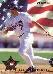 1994 Fleer All-Stars #22 Ivan Rodriguez
