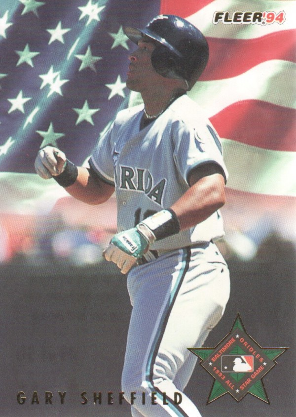 1994 Fleer All-Stars #49 Gary Sheffield