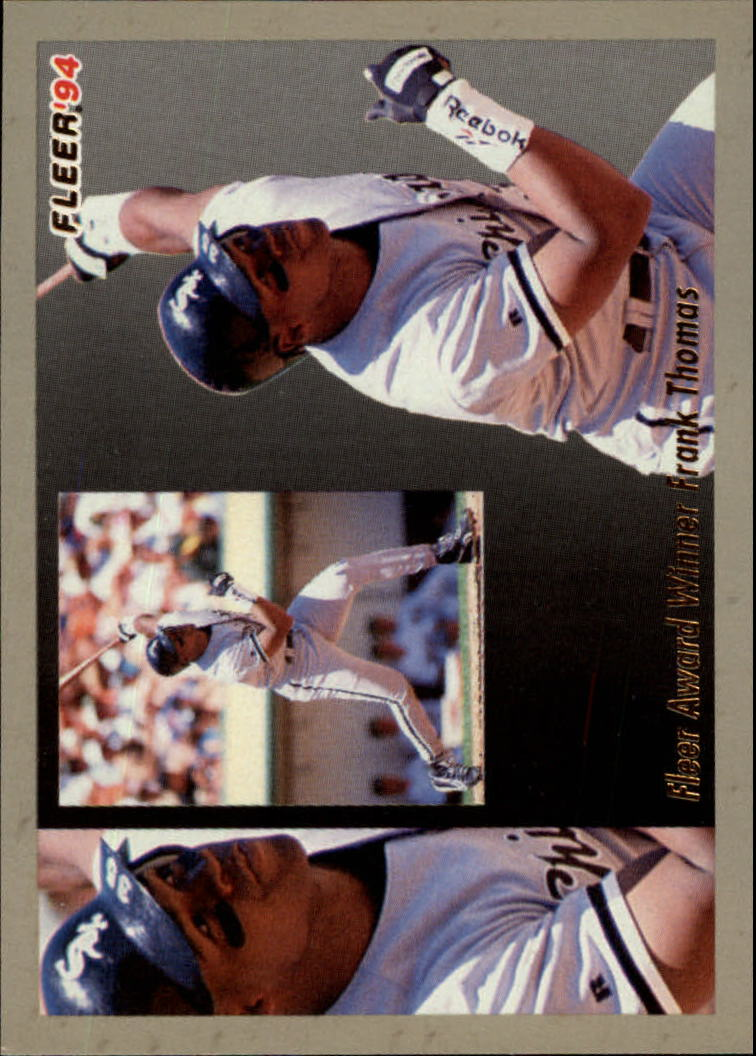 1994 Fleer Award Winners #1 Frank Thomas