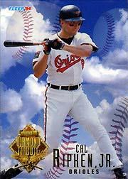 1994 Fleer Update Diamond Tribute #10 Cal Ripken