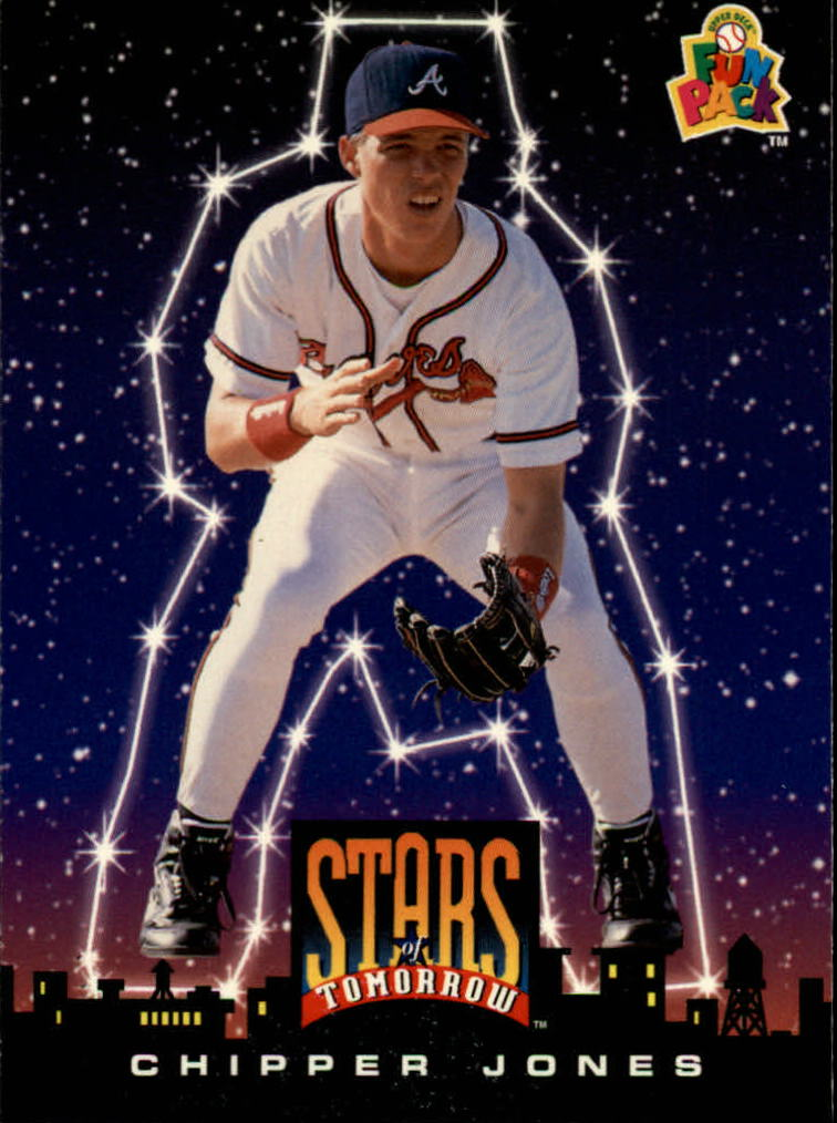 1994 Fun Pack #5 Chipper Jones