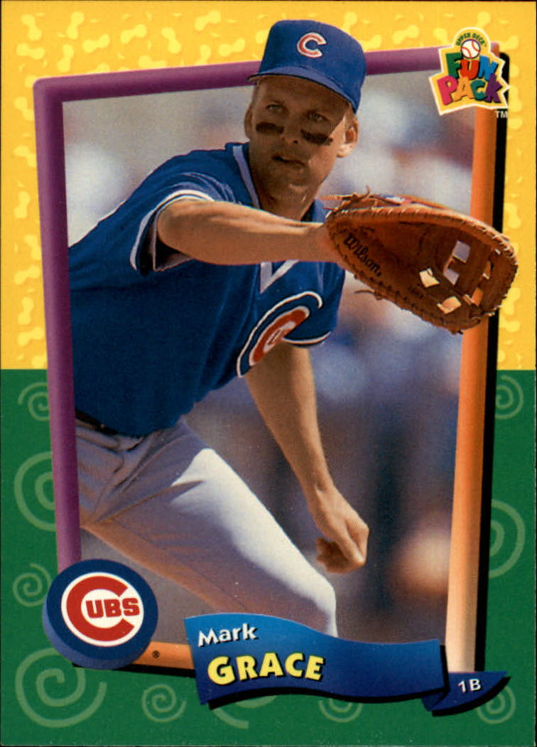 1994 Fun Pack #17 Mark Grace