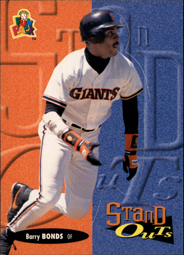 1994 Fun Pack #190 Barry Bonds STA