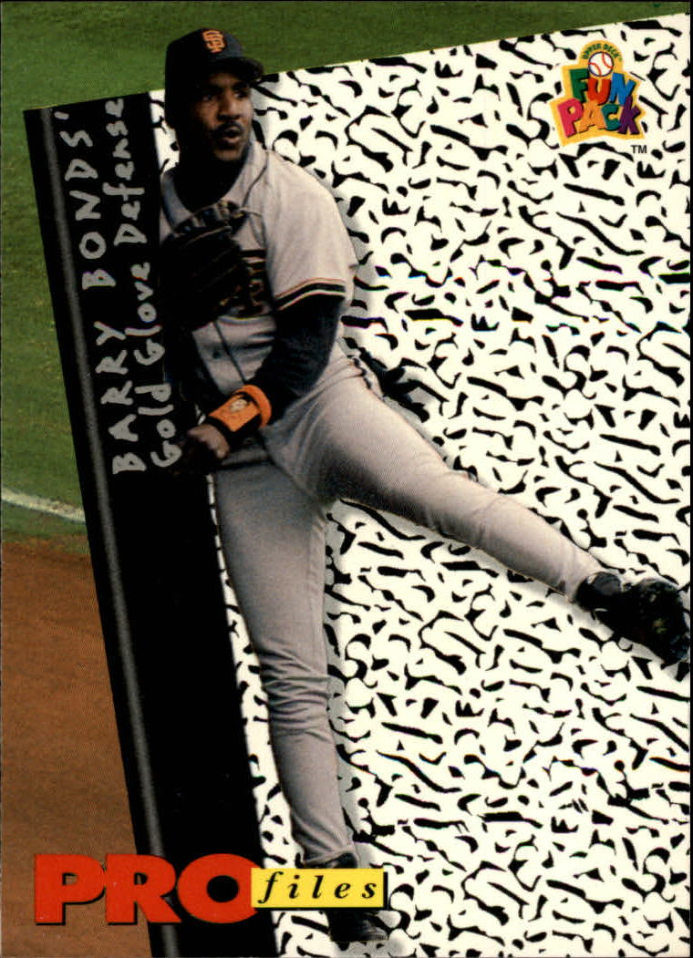 1994 Fun Pack #194 Barry Bonds PF