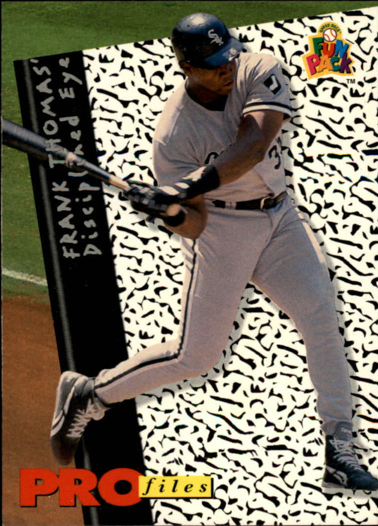 1994 Fun Pack #195 Frank Thomas PF