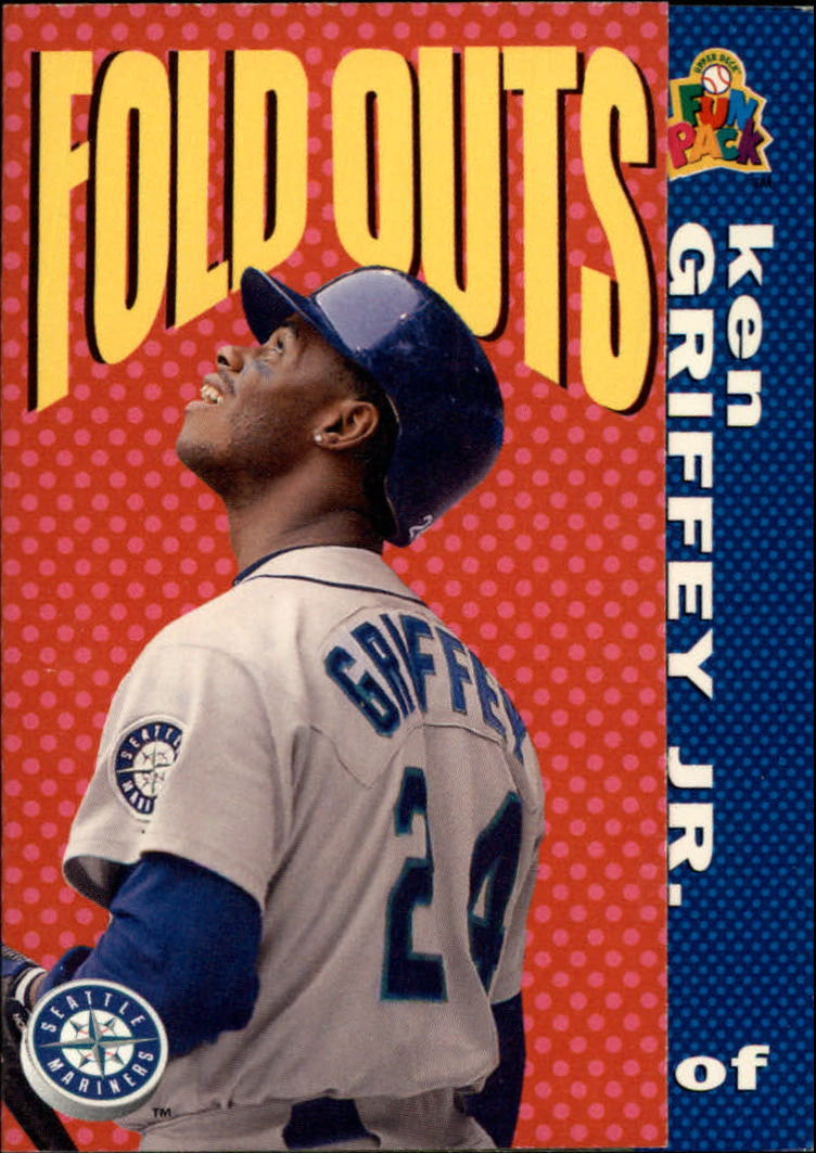 1994 Fun Pack #224 Ken Griffey Jr. FOLD