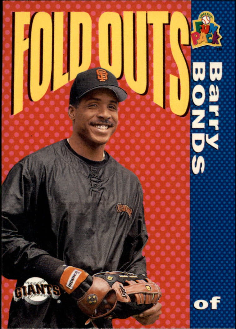 1994 Fun Pack #225 Barry Bonds FOLD