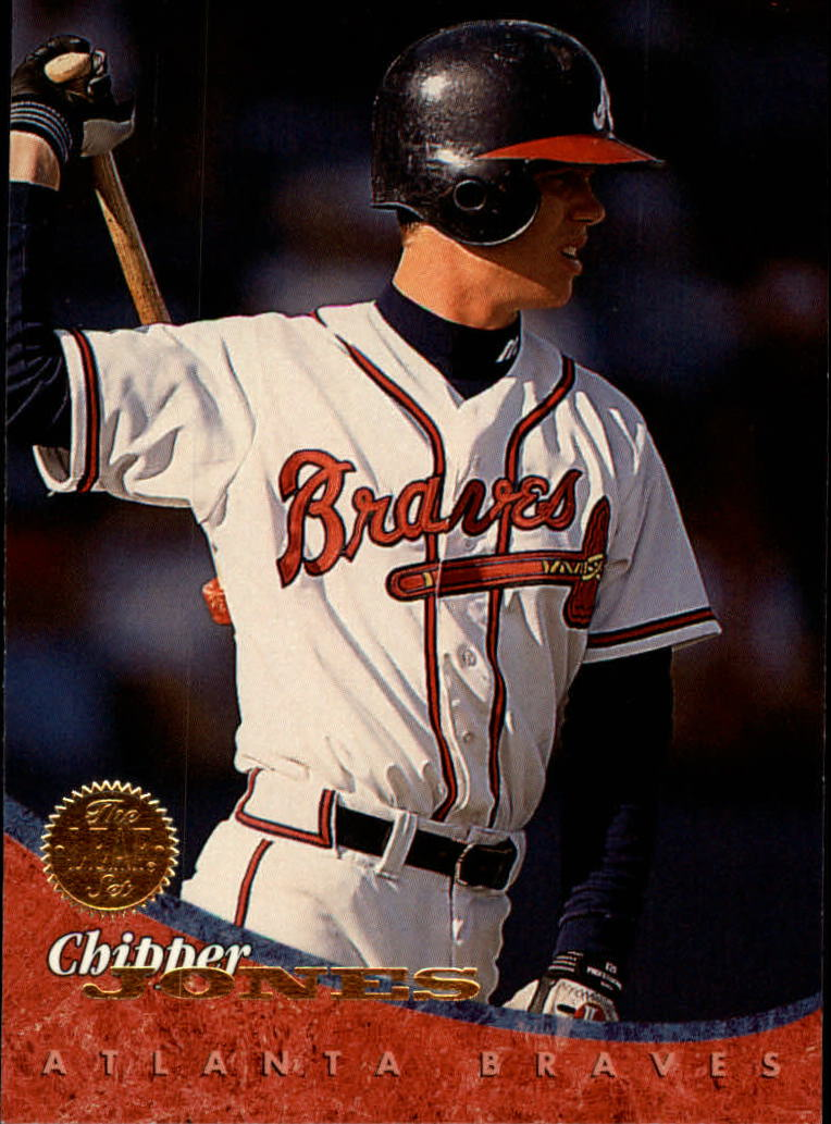 1994 Leaf #46 Chipper Jones
