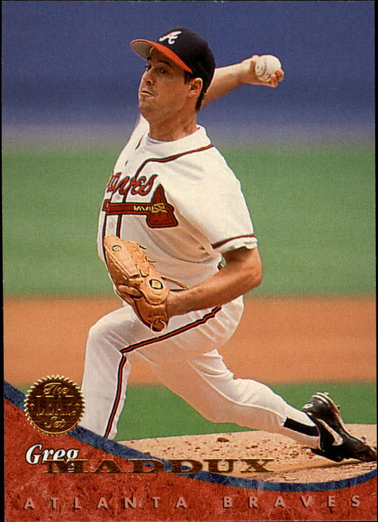 1994 Leaf #94 Greg Maddux