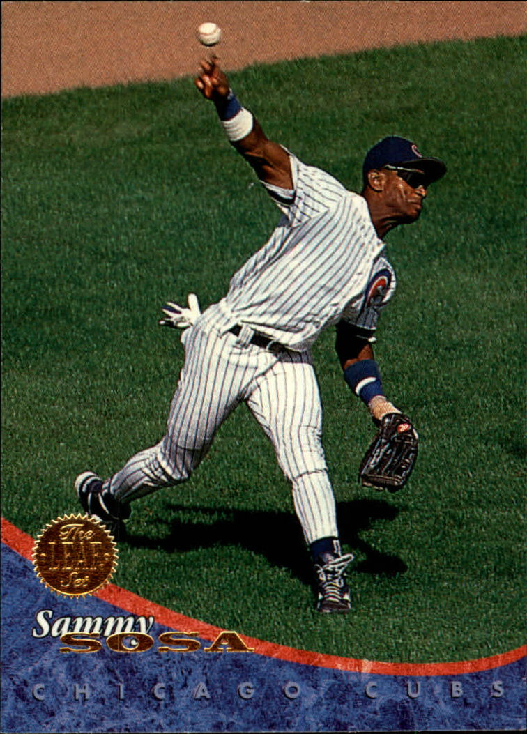1994 Leaf #98 Sammy Sosa