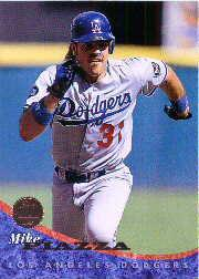 1994 Leaf #436 Mike Piazza