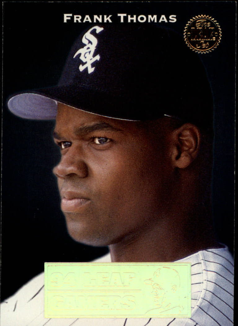 1994 Leaf Gamers #7 Frank Thomas