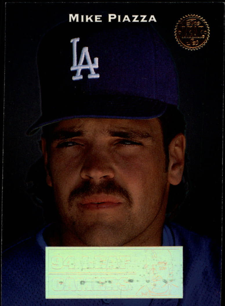 1994 Leaf Gamers #12 Mike Piazza