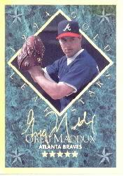 1994 Leaf Gold Stars #8 Greg Maddux