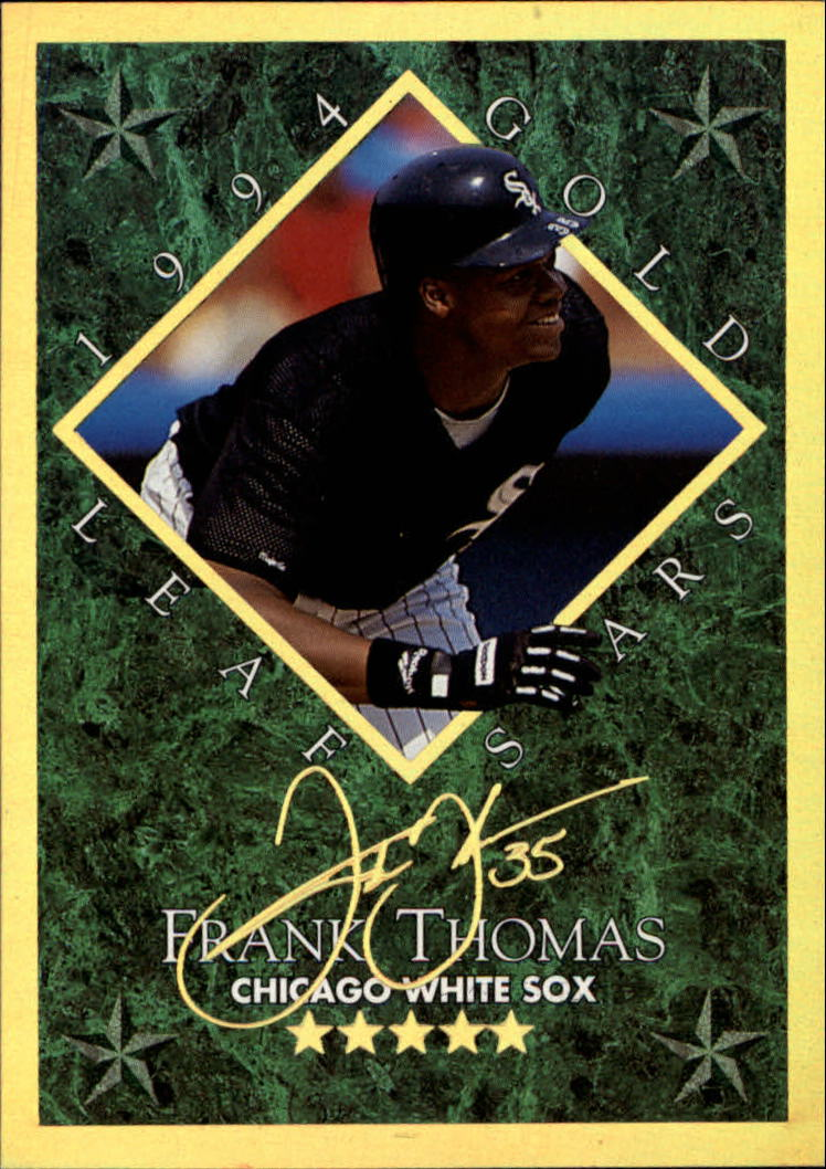 1994 Leaf Gold Stars #11 Frank Thomas