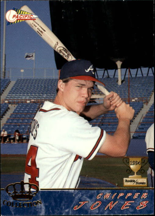 1994 Pacific #10 Chipper Jones