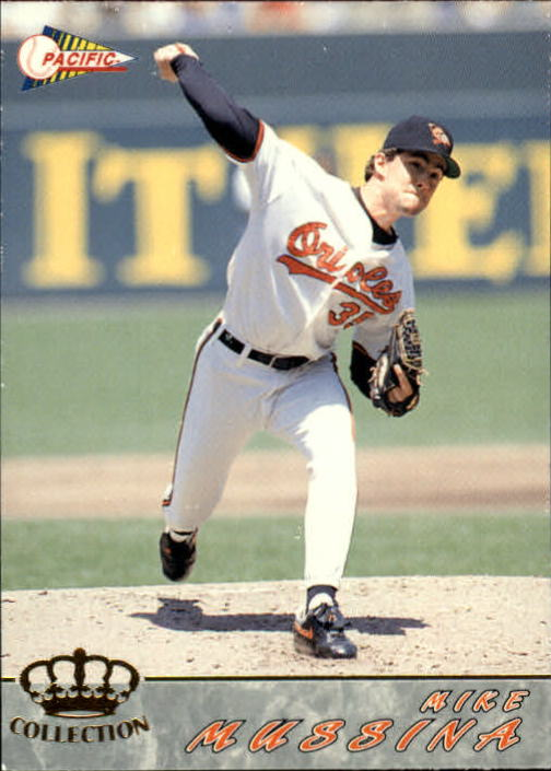 1994 Pacific #38 Mike Mussina