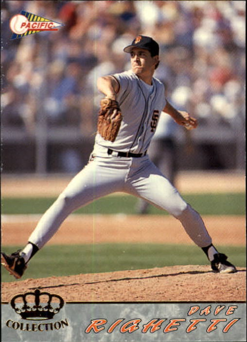 1994 Pacific #553 Dave Righetti