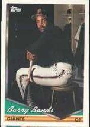 1994 Topps Pre-Production #2 Barry Bonds