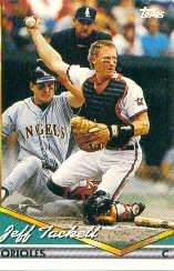1994 Topps Pre-Production #6 Jeff Tackett