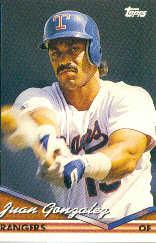 1994 Topps Pre-Production #34 Juan Gonzalez