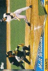 1994 Topps Pre-Production #225 Matt Williams