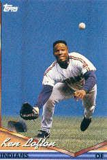 1994 Topps Pre-Production #331 Kenny Lofton