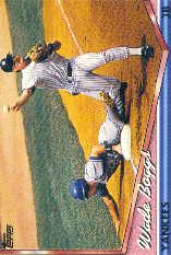 1994 Topps Pre-Production #390 Wade Boggs