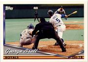 1994 Topps Pre-Production #397 George Brett