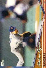 1994 Topps Pre-Production #700 Nolan Ryan/horizontal