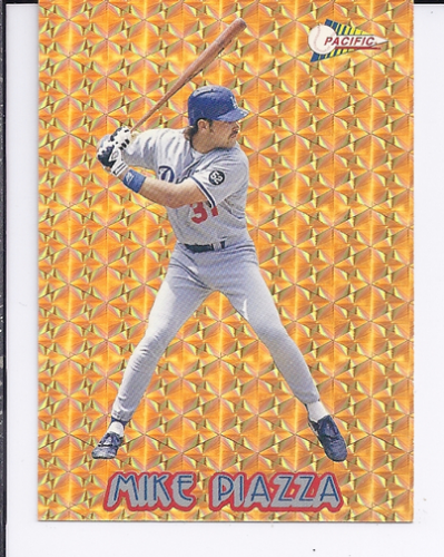 1994 Pacific Gold Prisms #16 Mike Piazza