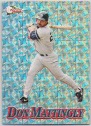 1994 Pacific Silver Prisms #10 Don Mattingly