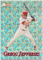 1994 Pacific Silver Prisms #27 Gregg Jefferies