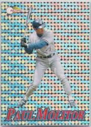1994 Pacific Silver Prisms Circular #4 Paul Molitor