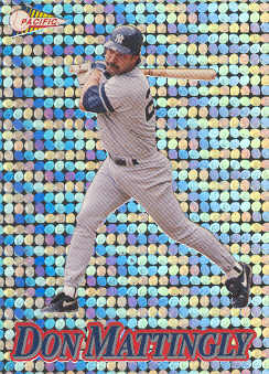 1994 Pacific Silver Prisms Circular #10 Don Mattingly