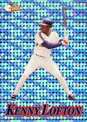 1994 Pacific Silver Prisms Circular #17 Kenny Lofton