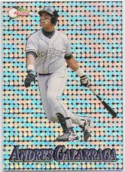 1994 Pacific Silver Prisms Circular #20 Andres Galarraga