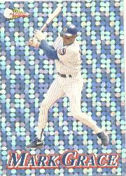 1994 Pacific Silver Prisms Circular #25 Mark Grace