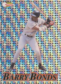 1994 Pacific Silver Prisms Circular #28 Barry Bonds