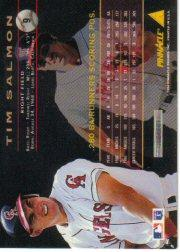 1994 Pinnacle #9 Tim Salmon back image