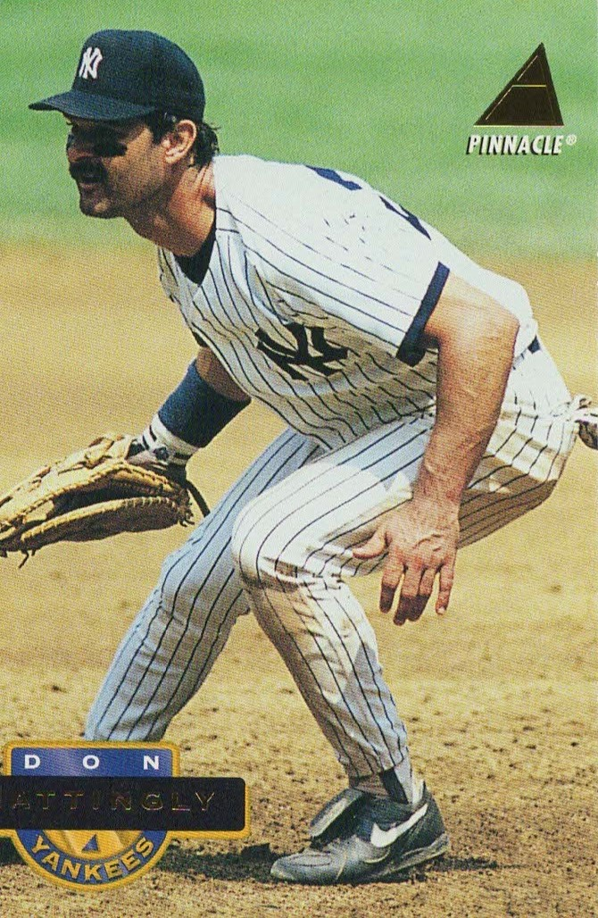 1994 Pinnacle #23 Don Mattingly