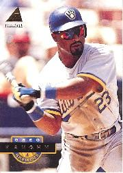 1994 Pinnacle #37 Greg Vaughn front image